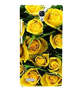 EPICCASE yellow roses Mobile Back Case Cover For Xiaomi Redmi Note Prime (Designer Case)