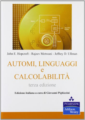 Automi linguaggi e calcolabilità PDF