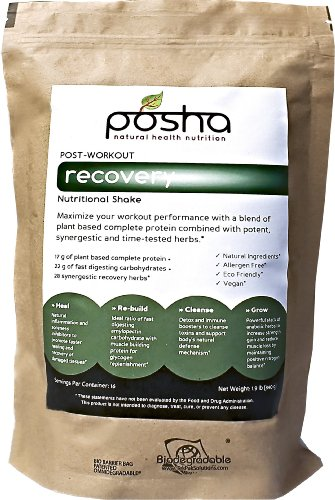 Posha All Natural Post-workout Recovery (16 Servings)