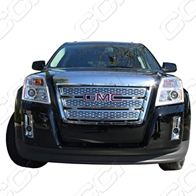2010, 2011, 2012, 2013 GMC Terrain Chrome Grille Overlay (1 piece) - Will NOT fit Denali! from CCI