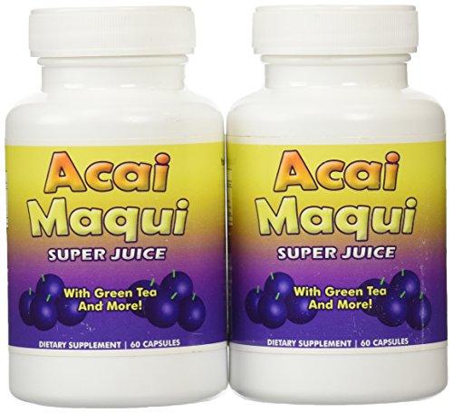 Eden étang Acai Maqui Weight Loss Pills, comte 2