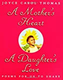 A Mothers Heart, A Daughters Love : Poems for Us to Share