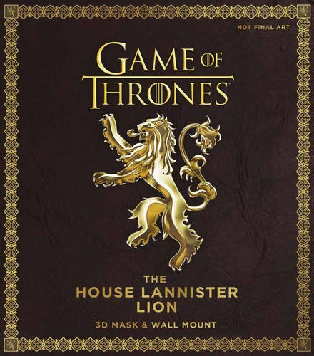 Game of Thrones: the House Lannister Lion