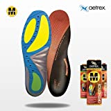 Aetrex Womens Orthotic Insoles (pair): MEDIUM ARCH SUPPORT. 1760 Custom Selec...