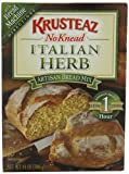 Krusteaz No Knead Italian Herb Artisan Bread Mix, 14-Ounce Boxes (Pack of 4)