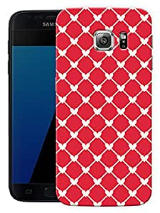 "Humor Gang Connected Hearts Red Printed Designer Mobile Back Cover For ""Samsung Galaxy S7"" (3D, Matte, Premium Quality Snap On Case)"