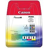 Canon 0621B029 - CANON CLI-8 C/M/Y MULTI PACK