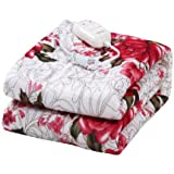 Plush Electric Control Heating Blanket Home Bed Heated Blanket