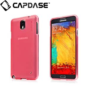Capdase Soft Jacket Xpose Case for Samsung Galaxy Note 3 - Tinted Red