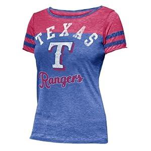 Texas Rangers MLB Ladies Morgan T-Shirt 2XL by G-III Sports