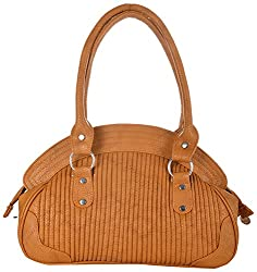 4EM-BOSS Womens Brown Leather Handbag