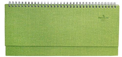 Tisch-Querkalender-Nature-Line-Lime-2017-1-Woche-2-Seiten-297-x-135