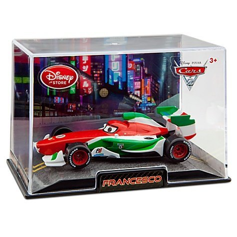 Francesco Bernoulli Cars 2 Disney Pixar 148 Die Cast Car front-1073449