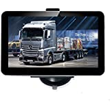 Noza Tec Truck GPS Sat Nav 7 Inch Bluetooth with Lifetime UK and EU Map Updates