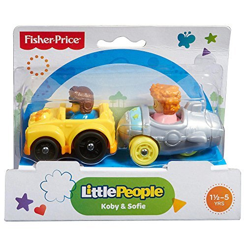 Fisher Price Little People Wheelies 2-pack - Koby and Sofie