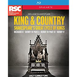 Shakespeare: King & Country [Blu-ray]