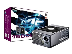 Cooler Master Silent Pro M2 1500W 80 PLUS Silver Power Supply with Modular Cables RSF00-SPM2D3-US