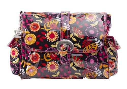 Kalencom Laminated Buckle Bag, Dandelion Berries