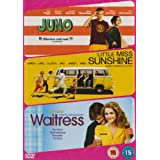 Juno/Little Miss Sunshine/Waitress [DVD]by Ellen Page