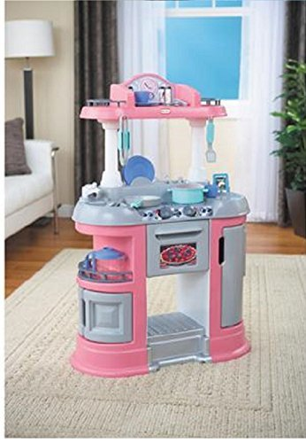 Little Tykes Sizzle and Pop Kitchen Pink