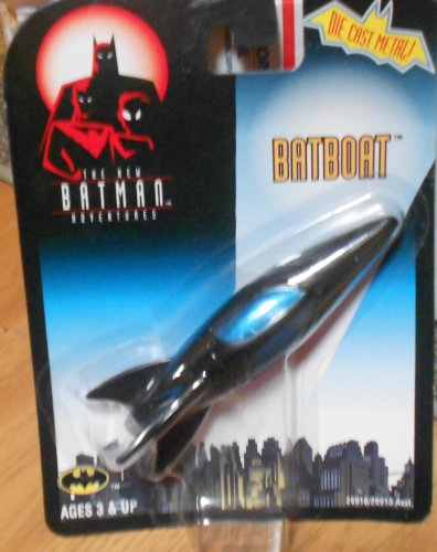 The New Batman Advengers Batboat Die Cast - 1