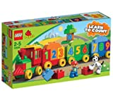 LEGO Bricks - Number Train - 10558 10558 (Hop aboard the Number Train where learning to count has never been so much fun! With numbered LEGO® DUPLO® bricks and 3 wagons, young builders will learn math skills while creating and constructing their own to