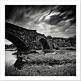 SMART ART - 'Stony Bridge' by Marcin Stawiarz - Fine Art Print 18x18 inches