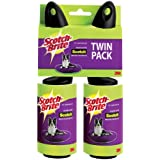 Scotch Pet Hair Roller 839R-56TP, 2-Count, 56 Sheets