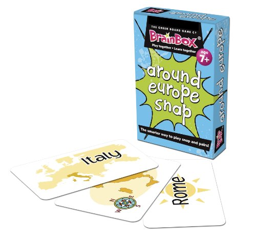 Imagen 1 de Green Board Games Around Europe Snap - Juego educativo sobre Europa (importado de Reino Unido)