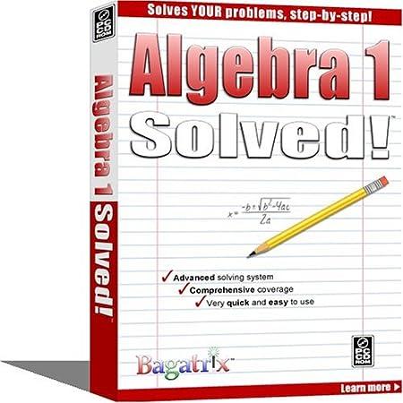 Algebra 1 Solved!