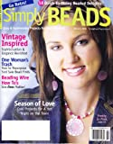 img - for Simply Beads Magazine, Vol. 2, No. 1 (February, 2006) book / textbook / text book