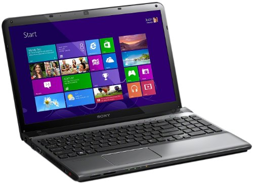 Sony Vaio SVE1512Y1E, Processore Intel Core i7, 2.2 GHz, 15.5 Pollici, HDD 750 GB, RAM 8 GB, Colore Argento