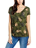 Lee Camiseta Manga Corta Ultimate V-Neck Army (Verde)