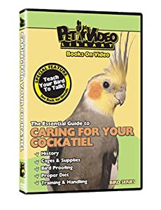 COCKATIEL DVD! + Bonus Video: Train Your Bird to Talk
