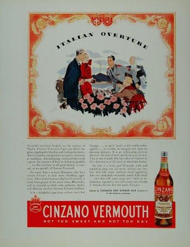 1934-ad-italian-cinzano-vermouth-soldier-outdoor-cafe-original-print-ad