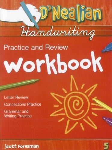 D'Nealian Practice & Review Wkbk Gr5