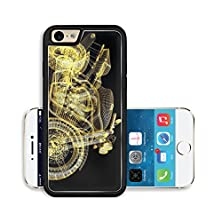 buy Liili Premium Apple Iphone 6 Iphone 6S Aluminum Snap Case Motor Cycle Street Fighter Image Id 13407866