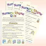 Baby Shower Game - Nursery Rhyme Quiz...