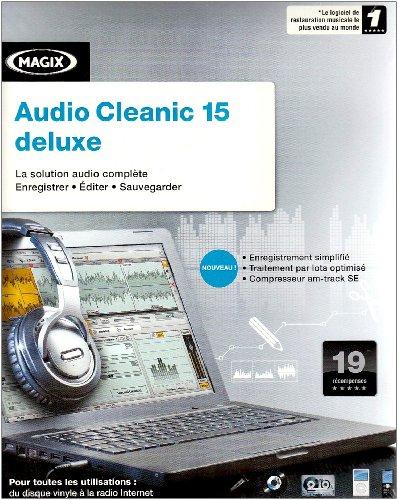 MAGIX audio cleanic deLuxe - (version 15 ) - ensemble complet - 1 utilisateur - CD -...