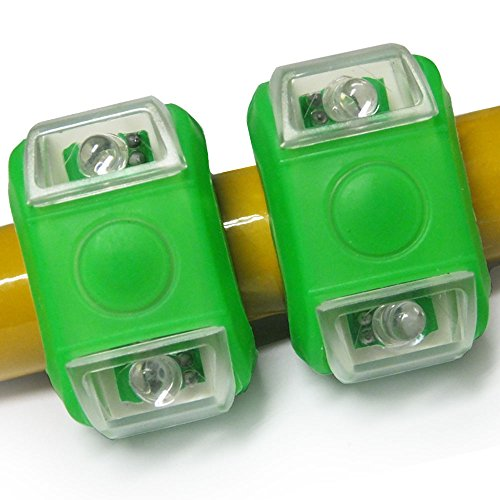 Cool Knight Led Bicycle Headlight Mountain Bike Frog Lamp Colorful (Green)