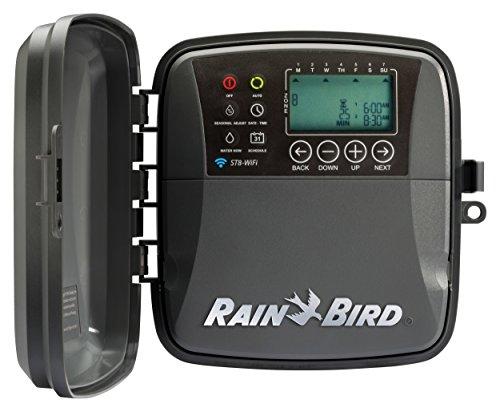 Rain Bird ST8O-WIFI Smart Irrigation Indoor/Outdoor WiFi Timer/Controller, 8-Zone (Orbit Wireless Rain Sensor compare prices)