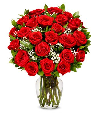 From You Flowers - Two Dozen Long Stemmed Red Rose…