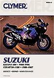 Clymer Suzuki Katana 600 1988-1996, Gsx-R750-1100, 1986-1987 (Clymer Motorcycle Repair) [Paperback] [2001] (Author) Ed Scott