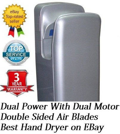 Pacific Feel Jet Hand Dryer for High Speed and Power in High Traffic Areas