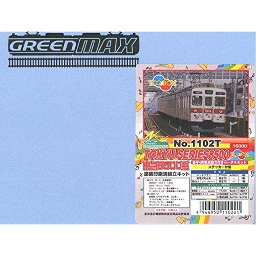Nゲージ 1102T 東急8500系 TOQ-BOX4輛トータル (塗装済車両キット)
