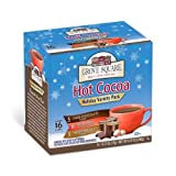 Grove Square Hot Cocoa Variety Pack, 16-Count Single Serve Cup for Keurig K-Cup Brewers (Pack of 3) FlavorName: Variety Pack Size: 16-Count (Pack of 3) Home & Kitchen