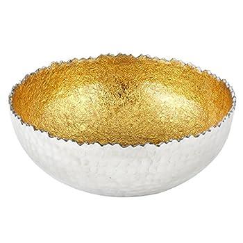 Elegance Foil Bowl, Small, Gold