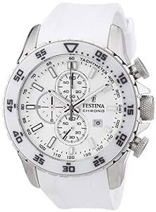 Festina Herren-Armbanduhr XL Sport Chrono Chronograph Quarz Kautschuk F16642/1