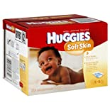 Huggies Soft Skin Wipes, Shea Butter, 320 ct.