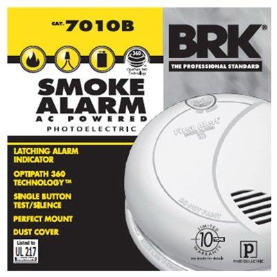 120V AC/DC Smoke Alarm